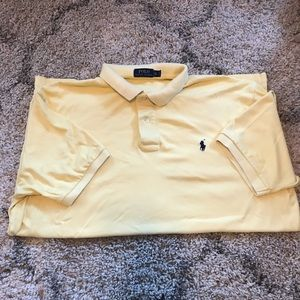 Men's XL Polo Ralph Lauren in light yellow